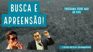 Ricardo Salles e Eduardo Bim são alvos de busca e apreensão da Polícia Federal