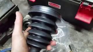 Honda Accord cl 7- cl 9 Замена пыльника шруса  наружной (гранаты) , рулевой тяги .