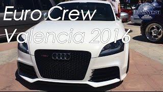Euro Crew Valencia 2016 - Выставка Необычных Машин В Валенсии. Audi, Wolksvagen, Mercedes, Mazda....