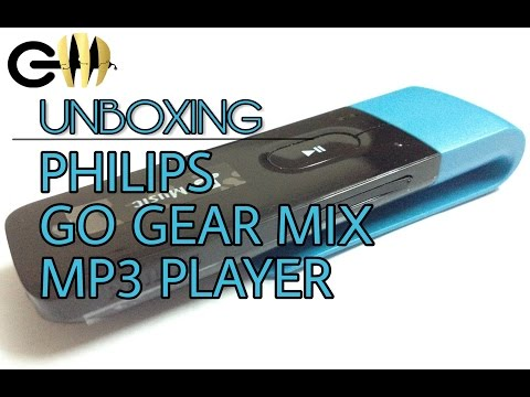 Philips Go Gear Mix Mp3 Player Unboxing and Review