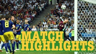 Germany vs Sweden World Cup Football Highlights 2018