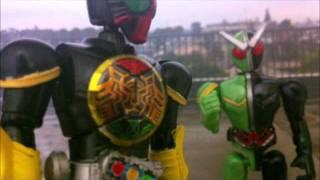 コマ撮りで再現 仮面ライダーオーズ対ルナドーパント thumbnail