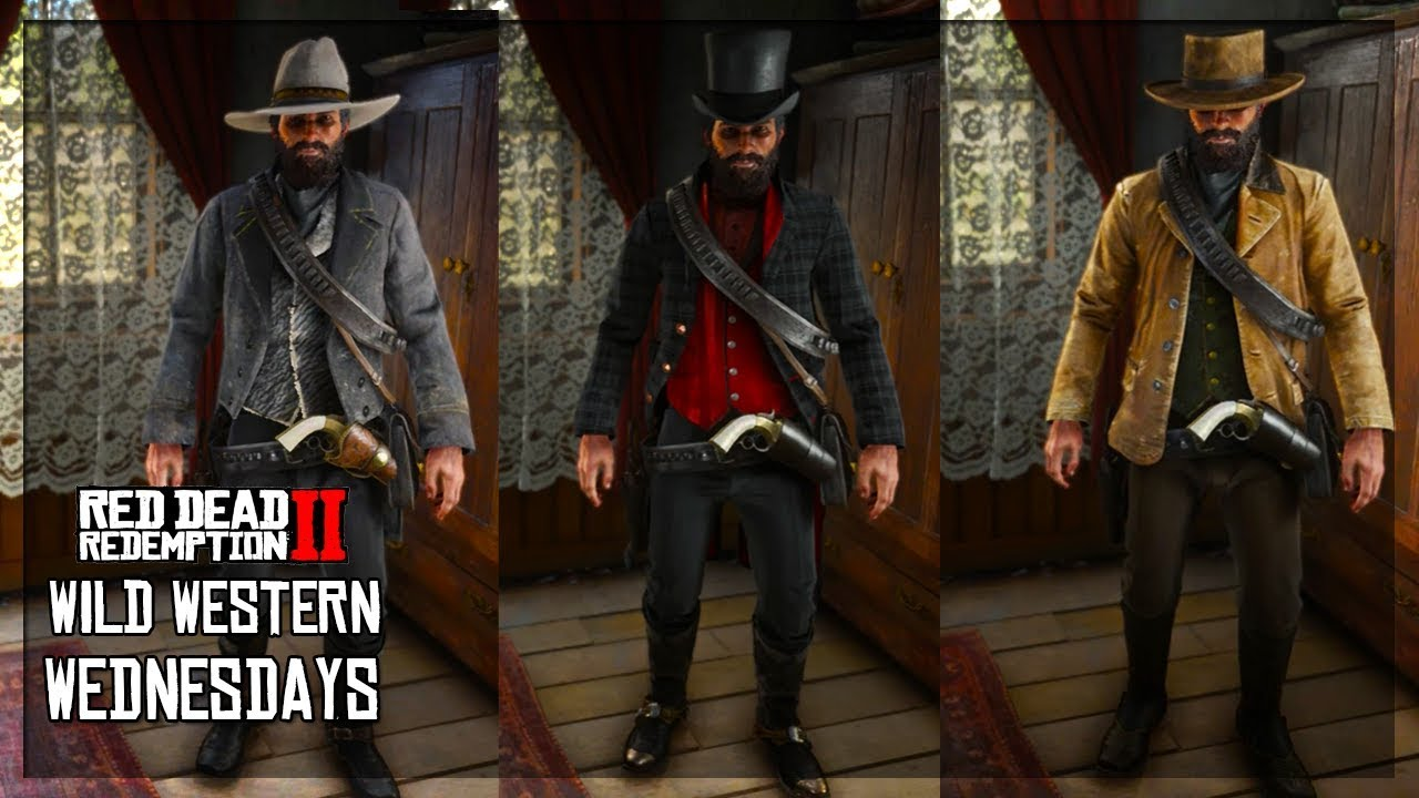 Wild Western Wednesdays #1 - Best Custom Outfits In Red Dead Redemption 2!  (RDR2 Best Outfits)