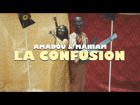 Amadou & Mariam - La confusion (Official Music Video)