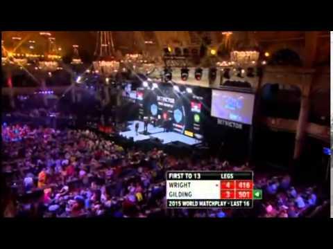 2015 World Matchplay Round 2 Wright vs Gilding