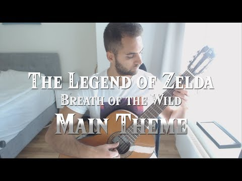 Main Theme - The Legend of Zelda: Breath of the Wild on Guitar