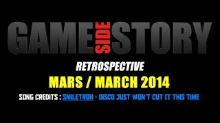 Sorties Indépendantes - Mars 2014 / Indie Releases - March 2014