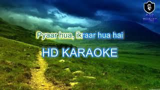 Pyaar Hua Ikrar Hua HD KARAOKE BY AAKASH