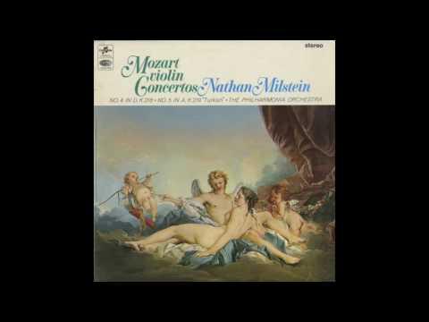 Silent Tone Record/モーツァルト:ヴァイオリン協奏曲4番,5番トルコ風/ナタン・ミルシテインフィルハーモニア管弦楽団/クラシックLP専門店サイレント・トーン・レコード