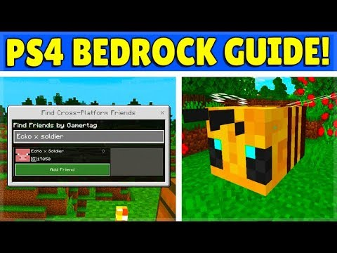 How to find a friend on minecraft ps4