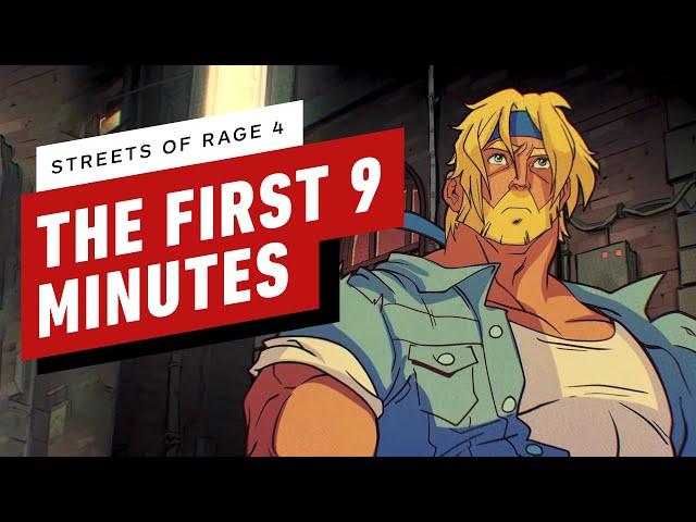 Streets of Rage 4 (видео)