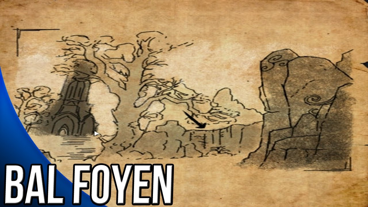 Bal Foyen Ce Treasure Map Bal Foyen CE Treasure Map Guide   The Elder Scrolls Online   YouTube Bal Foyen Ce Treasure Map