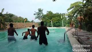Swimming pool training