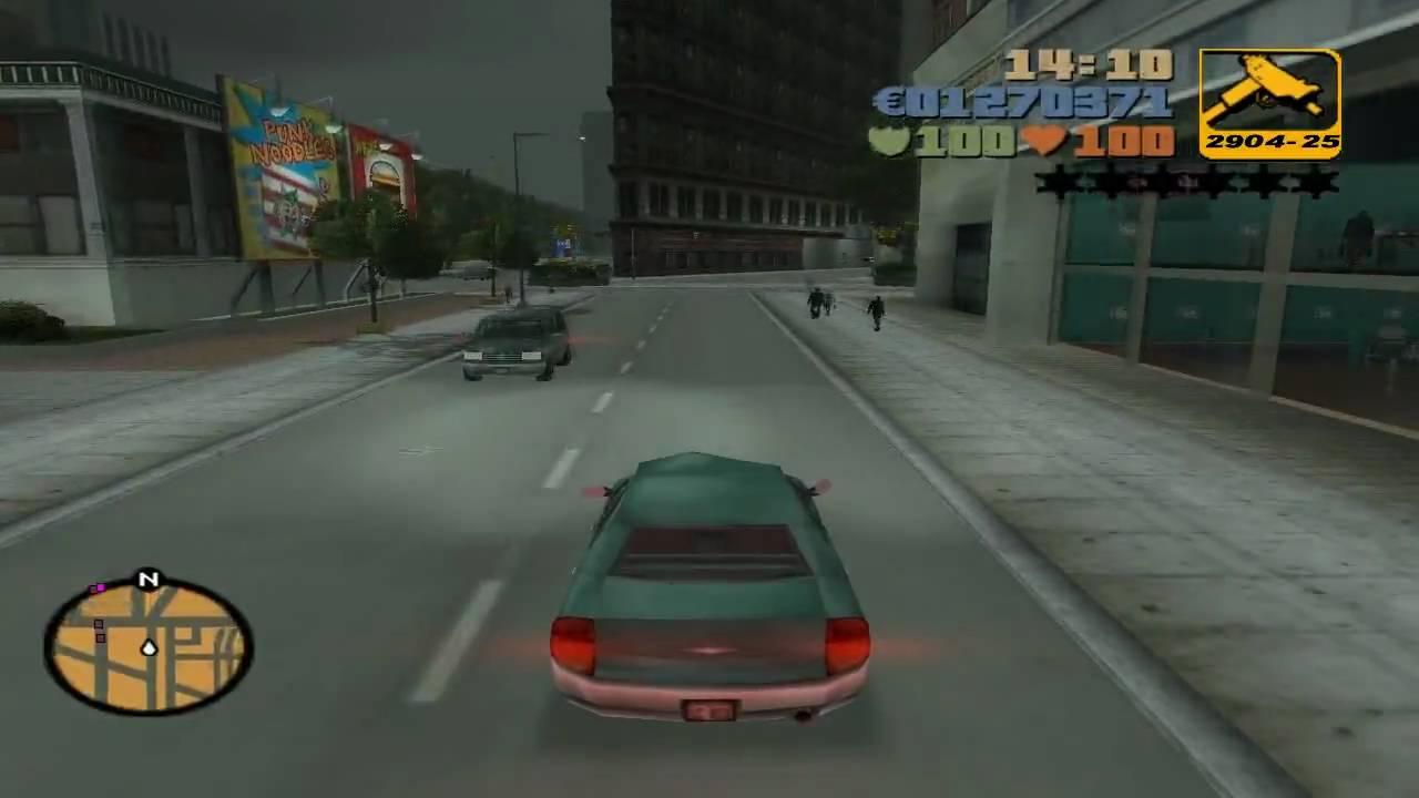 GTA 3 III Mission 15.1 SCHNELLE AUTOS, SCHNELLES GELD - YouTube