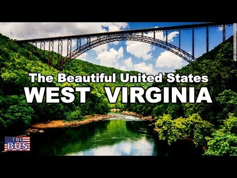 USA West Virginia State Symbols/Beautiful Places/Song THE WEST VIRGINIA HILLS w/lyrics