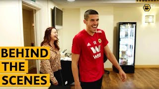 Football Focus with Conor Coady | Behind the Scenes at Wolves' Training Ground