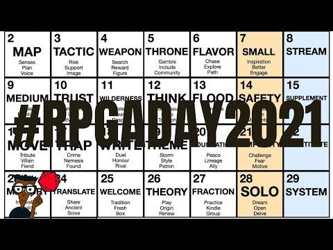 #RPGaDay2021 Présentation