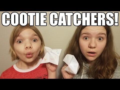 Cootie Catcher Origami Paper Fortune Teller! So funny! | Babyteeth More!