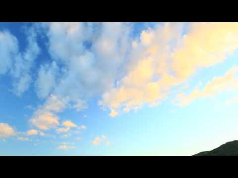 Amazing nature video. Timelapse. Sunset. Cloudy sky. Travel. Canon 5d mark2.