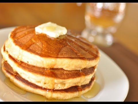 How to Cook Impossibly Fluffy Whole Wheat Buttermilk Pancakes from Scratch.