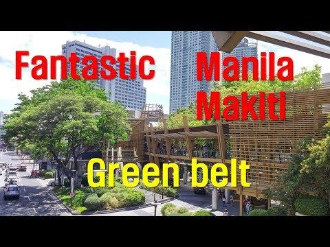 Fantastic Manila makati greenbelt mall walking
