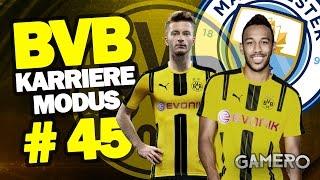 FIFA 17 KARRIEREMODUS BVB #45 ♕ VIERTELFINALE Gegen MANCHESTER CITY ♕ FIFA 17 Karrieremodus