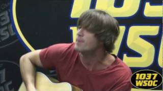 "103.7 WSOC: Walker Hayes performs ""Cherry Stem"""