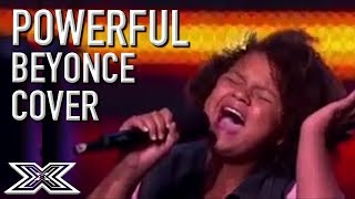 teenager amazes crowd with if i were a boy cover x factor global