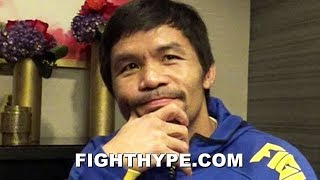 """I PUNISH MYSELF"" - PACQUIAO'S EPIC BOXING PHILOSOPHY; GETS DEEP ON WORK ETHIC TO PREVENT SUFFERING"