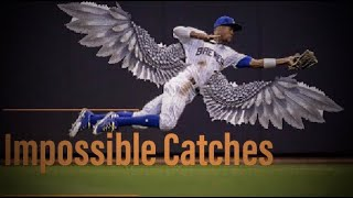 MLB Best IMPOSSIBLE Catches ᴴᴰ