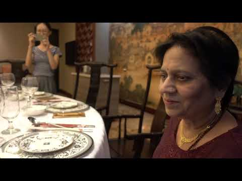 Aruna & Hari Sharma Faculty Dinner American Plaza Restaurant, Guangzhou, Aug 14, 2017