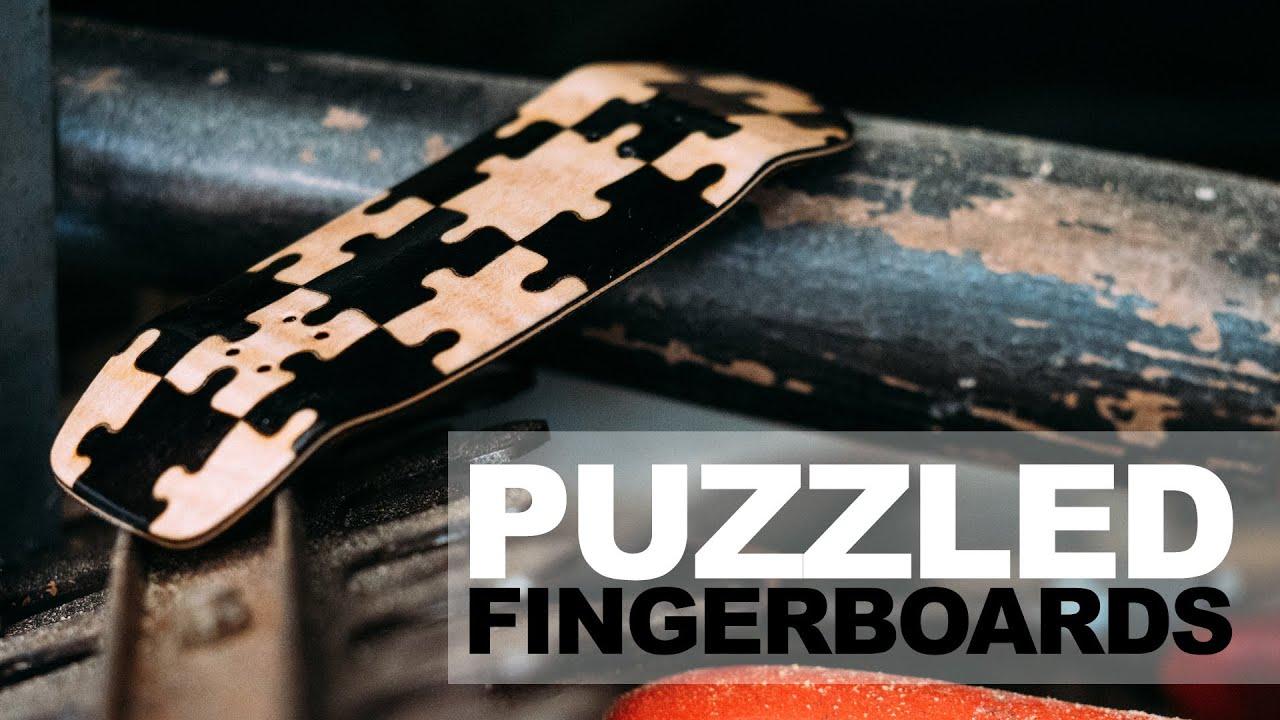 PUZZLED Fingerboards - Puzzle Splitply Fingerboard Deck - Product Blog