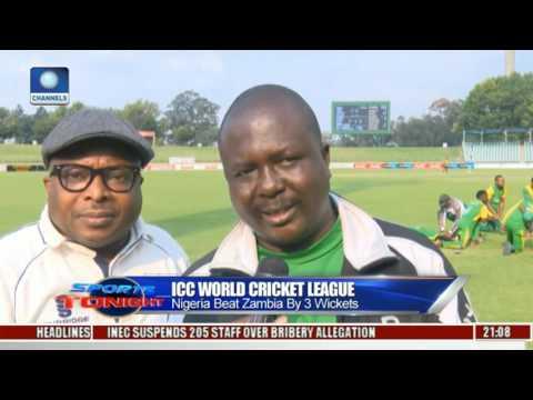 Nigeria Beat Zambia By 3 Wickets In ICC World Cricket League