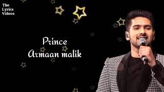 #ArmaanBest TUM JO MILE || Armaan Malik || Lyrical video song || TheLyricsVideos