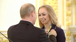 АНАСТАСИЯ МАКСИМОВА / Олимпийская чемпионка