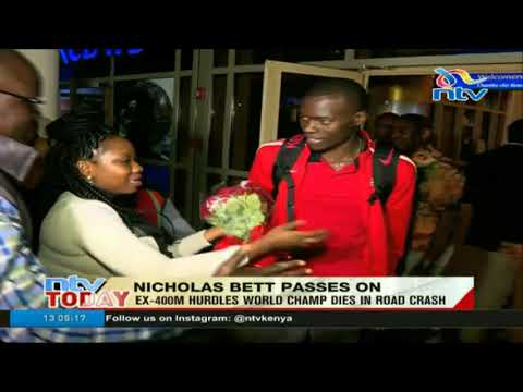 President Kenyatta, athletes pass condolences to family of Nicholas Bett