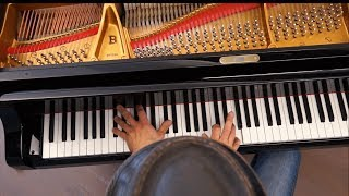 DR. JAMES - Henry Butler (New Orleans Jazz piano) Steinway B-211