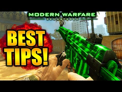 HOW TO GET BETTER AT MODERN WARFARE REMASTERED! - Best Modern Warfare Remastered Tips and Tricks!