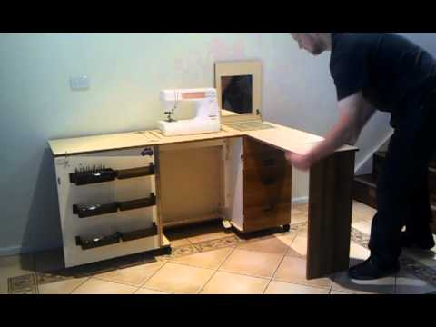 Horn Sewing Cabinet For Sale - YouTube