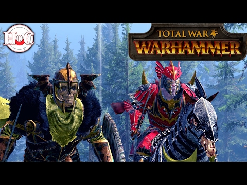Mousillon and Wood Elves - Total War Warhammer Online Battle 216