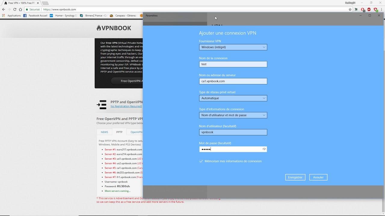 installation et utilisation VPN gratuit sous windows 10 ...