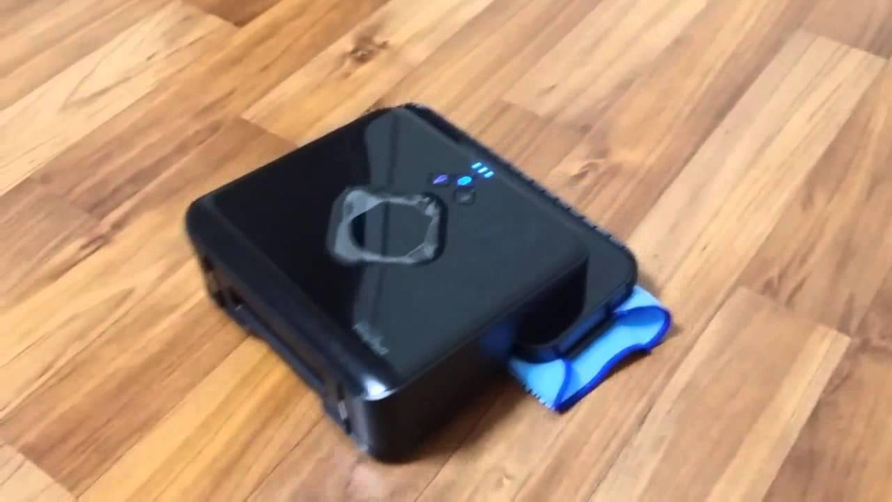 IRobot Braava T Floor Mopping Robot YouTube - Roomba that mops floors