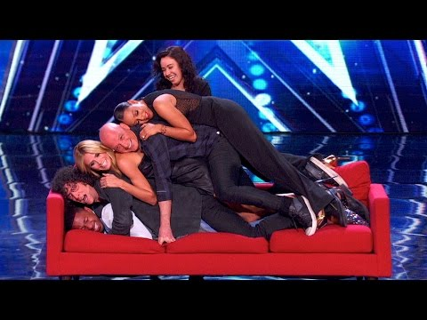 Funny and Cute Moments of the AGT Judges and Nick 2015