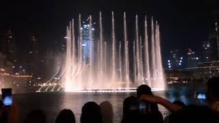 The Dubai Fountain: Waves(Amvaj)