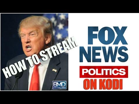 How To Stream Fox News LIVE On Kodi (2017)