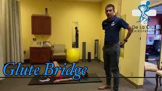 Glute Bridge - De La Cruz Chiropractic