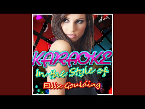 The Writer (In The Style Of Ellie Goulding) (Karaoke Version)