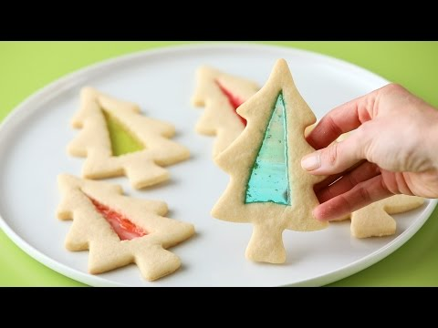 Stained Glass Holiday Cookies- Martha Stewart