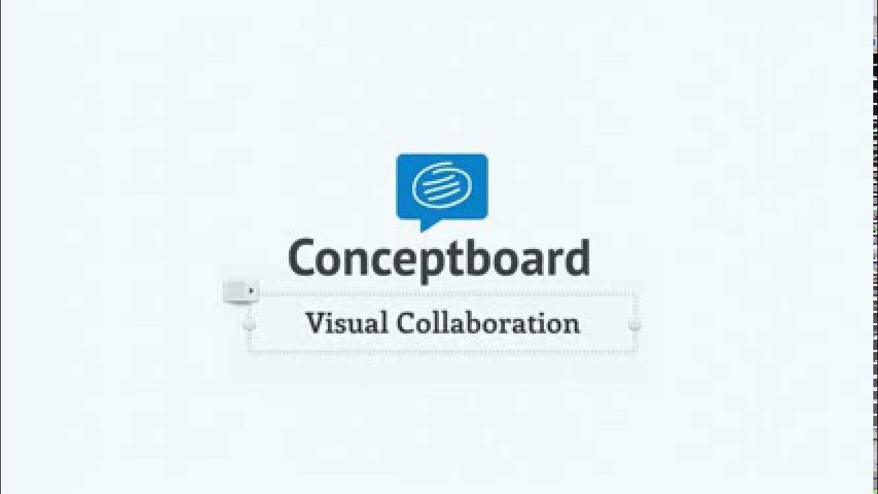 Conceptboard - Visual Collaboration on Ideas & Documents