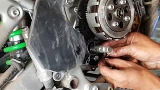 Penyebab Perneling Kawasaki KLX 150 tidak bisa dipindah